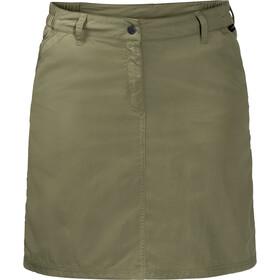Jack Wolfskin Kalahari Spódnica Kobiety, khaki